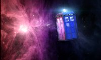 TARDIS Console Room In Flight